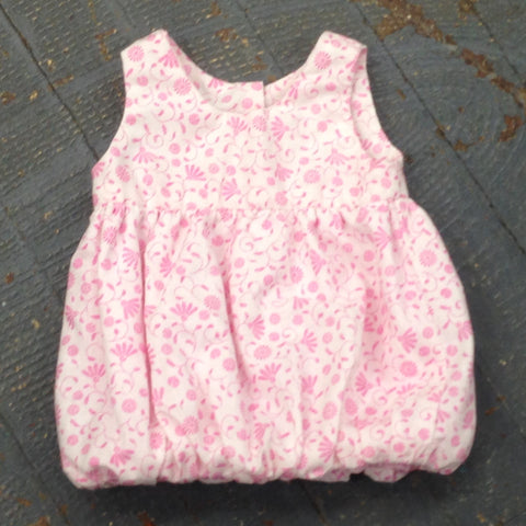 "18"" Doll Clothes Outfit Pink Summer Spring Floral Print Dress"