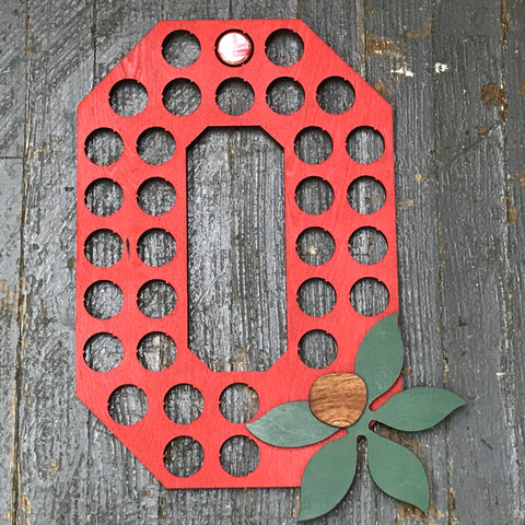 Bottle Cap Holder OSU Ohio State Buckeyes