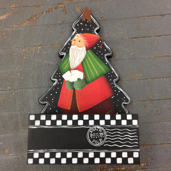 Hand Painted Christmas Card Holder Decorations