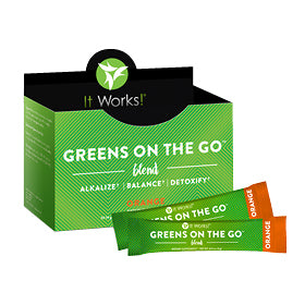 Greens Blend Orange on the Go