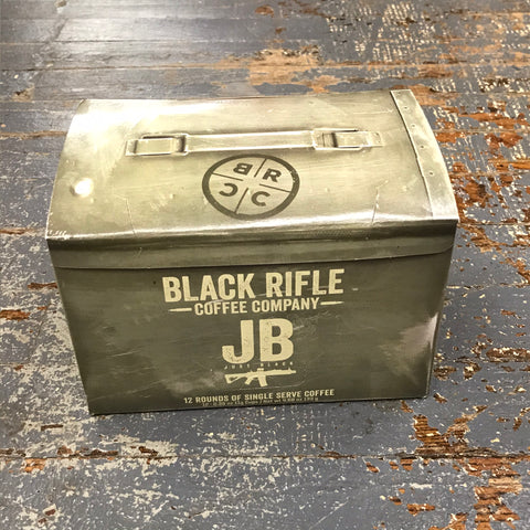 Black Rifle Just Black Medium Roast 12 Single Serve Rounds Coffee