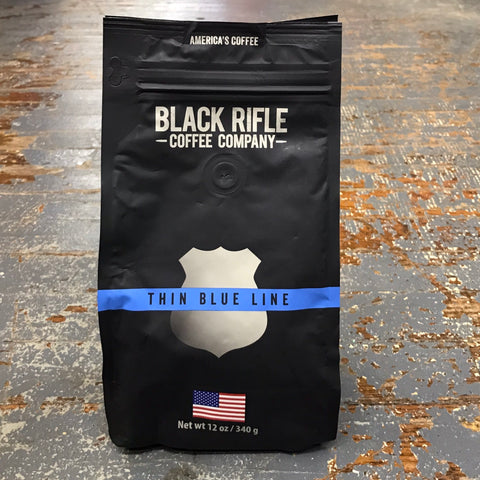 Black Rifle Thin Blue Line Medium Roast 12oz Ground Coffee