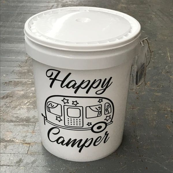 Happy Camper Light Up Bucket