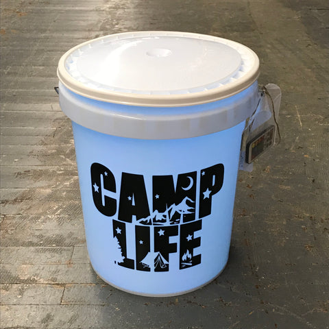 Camp Life Light Up Bucket