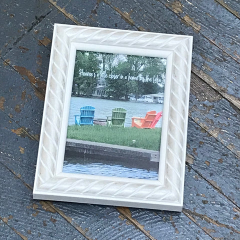 Heaven's Little Closer Home by Lake Picture Frame
