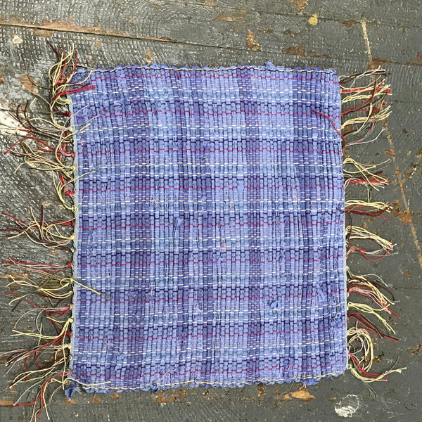 #154 Color of the Year Rag Weaved Table Runner Placemat Rug by Morgan