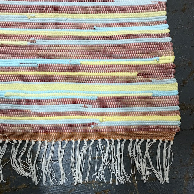 #73 Summer Sunset Weaved Table Runner Rug by Morgan