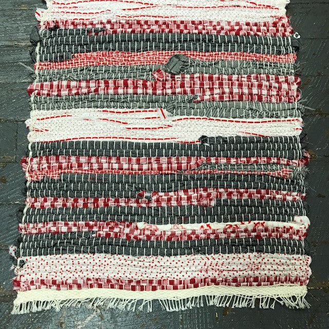 #7 OSU Weaved Table Runner Rug by Stacy