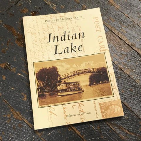 Indian Lake By Cornelis van der Veen Postcard History Series Book