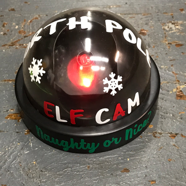 North Pole Santa Elf Cam Naughty Nice Christmas Spy Camera