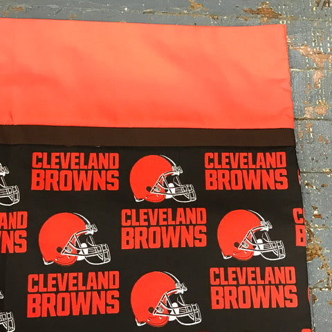 Pillowcase NFL Football Cleveland Browns Pillow Case Single