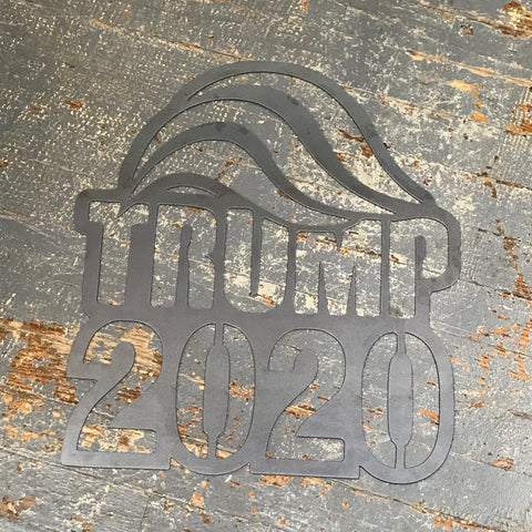 Trump Hair 2020 Metal Sign Wall Hanger