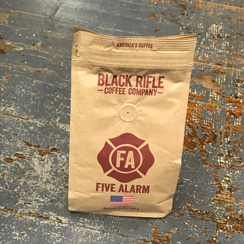 Black Rifle Five Alarm Medium Roast 12oz Ground Coffee