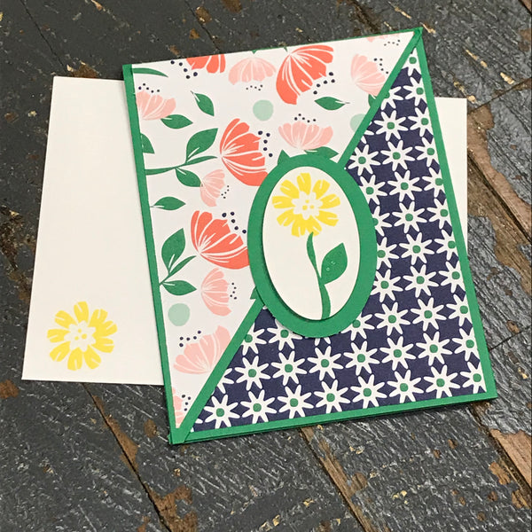 Thinking of You Friend Handmade Stampin Up Greeting Card with Envelope
