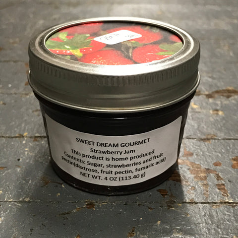 Gourmet Jam Strawberry 4oz
