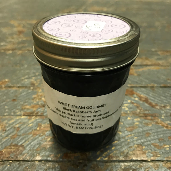 Gourmet Jam Black Raspberry 8oz