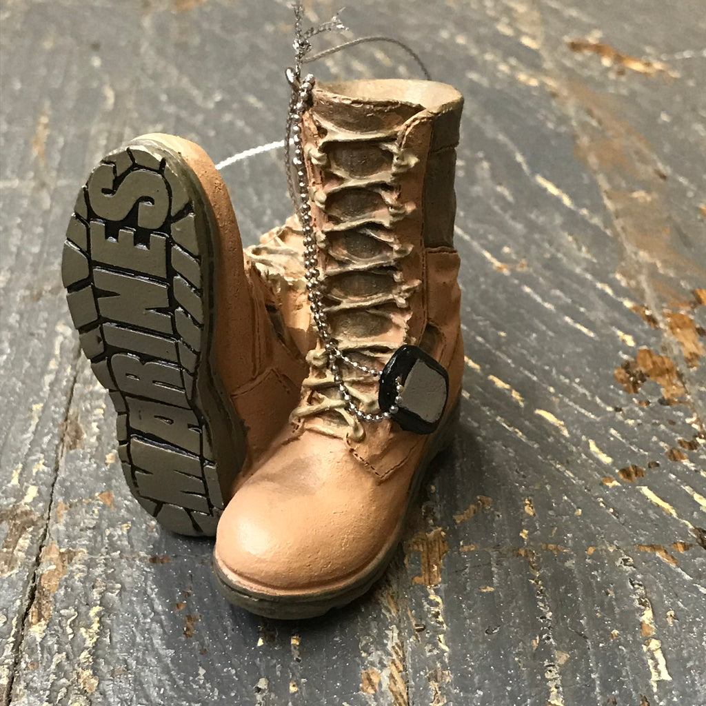 Marines Military Boots Ornament