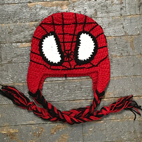 Crocheted Youth Toddler Child Winter Hat Spiderman