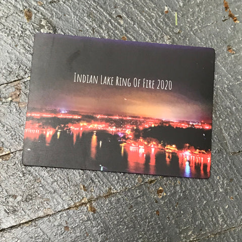 Indian Lake Ohio Ring of Fire 2020 Magnet Kevin Campbell