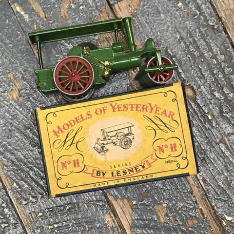 Models of YesterYear by Lesney No 11 Steam Roller Matchbox Toy Car