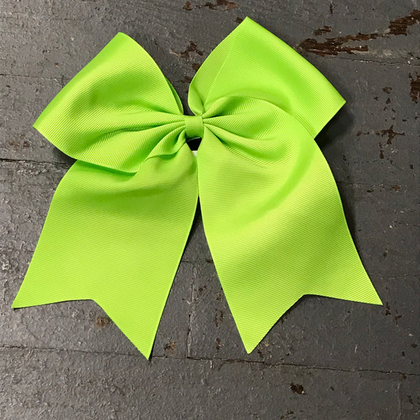Hair Clip Ribbon Headband Cheer Team Spirit Big JoJo Bow Green