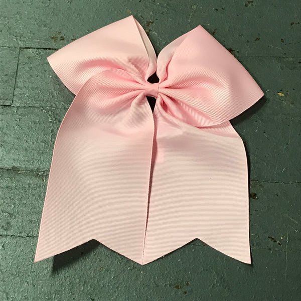 Hair Clip Ribbon Headband Cheer Team Spirit Big JoJo Bow Pink