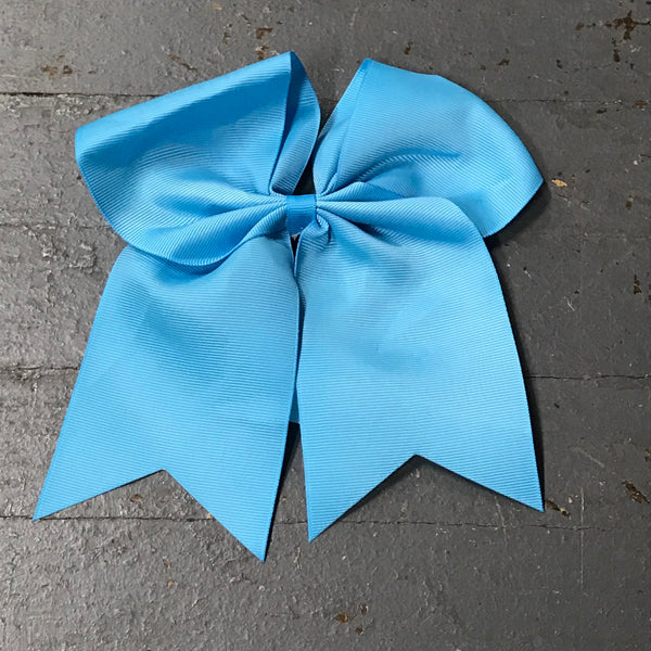 Hair Clip Ribbon Headband Cheer Team Spirit Big JoJo Bow Blue