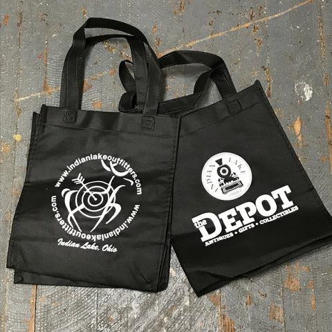 b63e5c9f1689 Reusable Shopping Tote Bag The Depot Indian Lake Outfitters