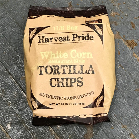 Harvest Pride White Corn Restaurant Style Tortilla Chips