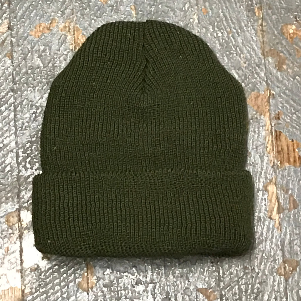 Genuine Government Issued Wool Beanie Winter Watch Hat Cap