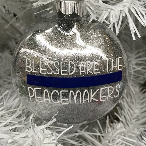 Holiday Christmas Tree Ornament Peacemaker