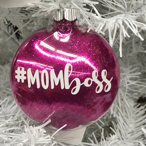 Holiday Christmas Tree Ornament #Momboss Mom Boss
