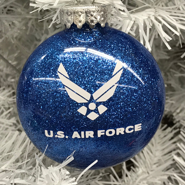 Holiday Christmas Tree Ornament Military Branch US Airforce