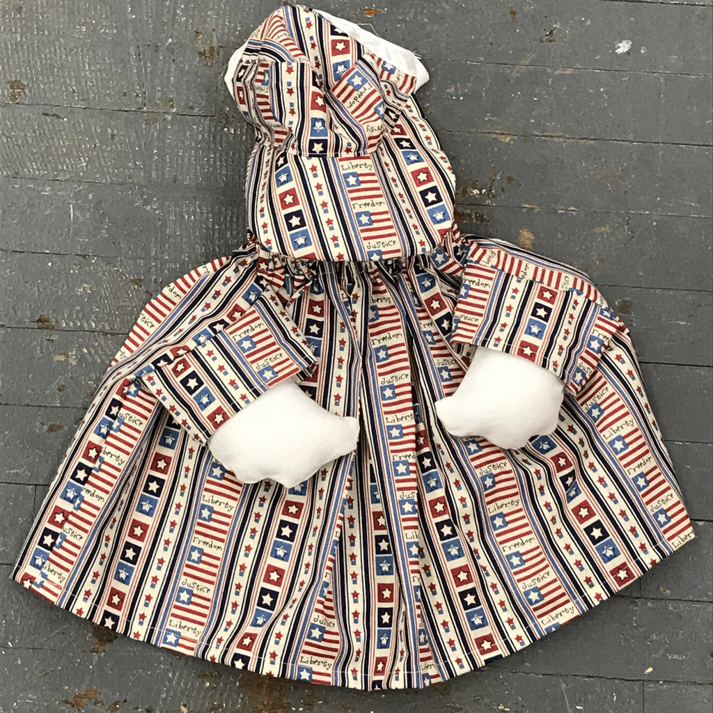 Goose Clothes Complete Holiday Goose Outfit American Liberty Freedom Dress and Hat