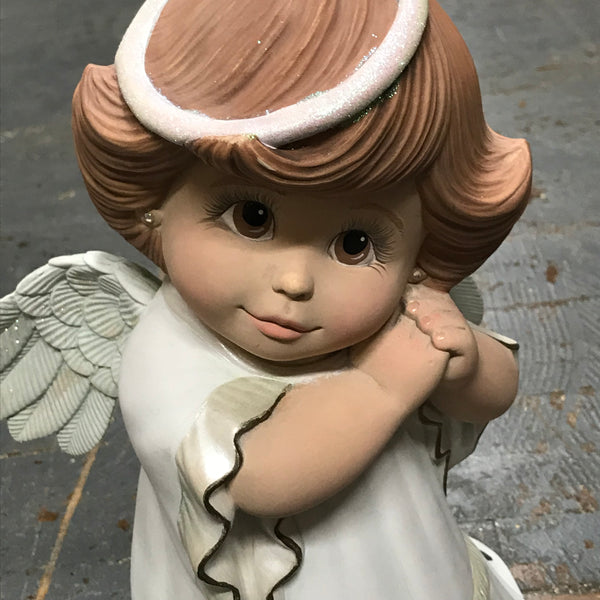 Ceramic Christmas Holiday Winter Angel