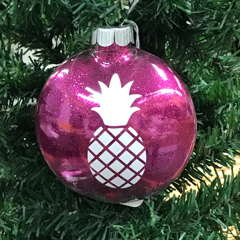 Holiday Christmas Tree Ornament Pineapple