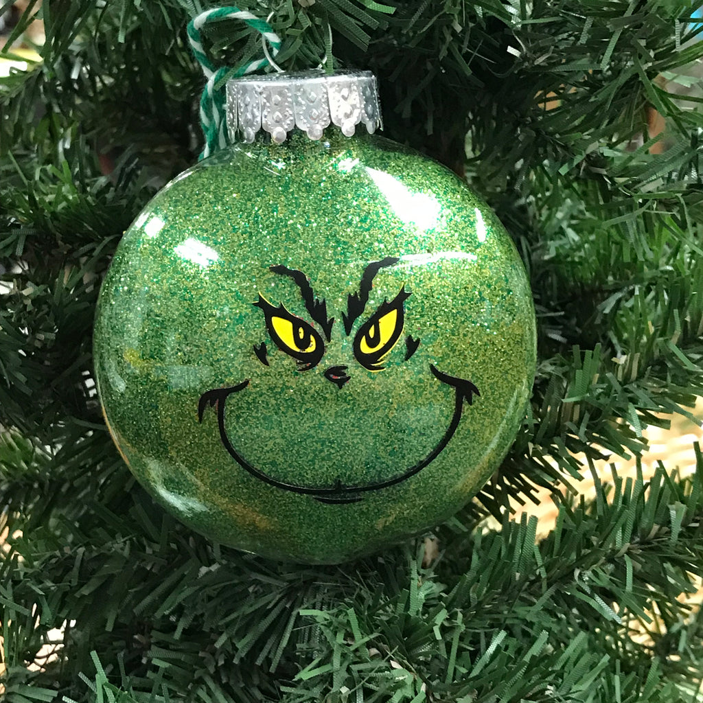 Holiday Christmas Tree Ornament Dr Seuss The Grinch