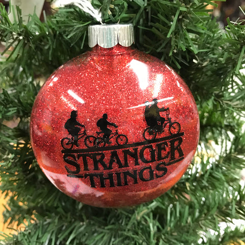 Holiday Christmas Tree Ornament Stranger Things