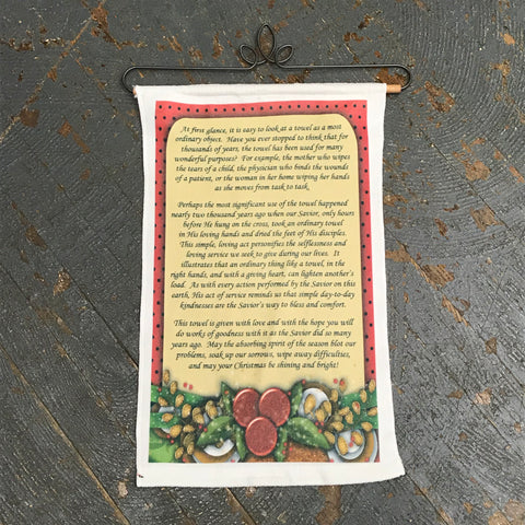 Christmas Poem Towel