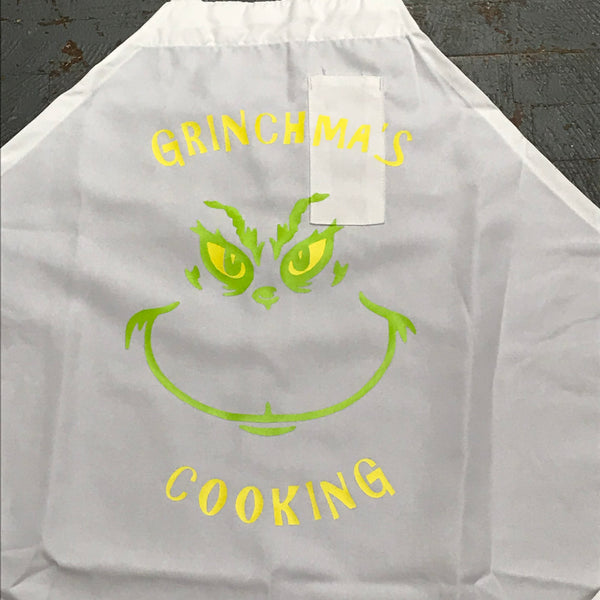 Baking Grill Apron Christmas Dr Seuss The Grinch