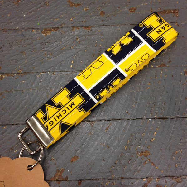 Michigan Wolverines Key Chain Fob