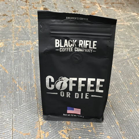 Black Rifle Coffee or Die Medium Roast 12oz Ground Coffee