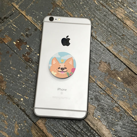 Popsocket Courtney Lynn Corgi Pixel Pop Socket