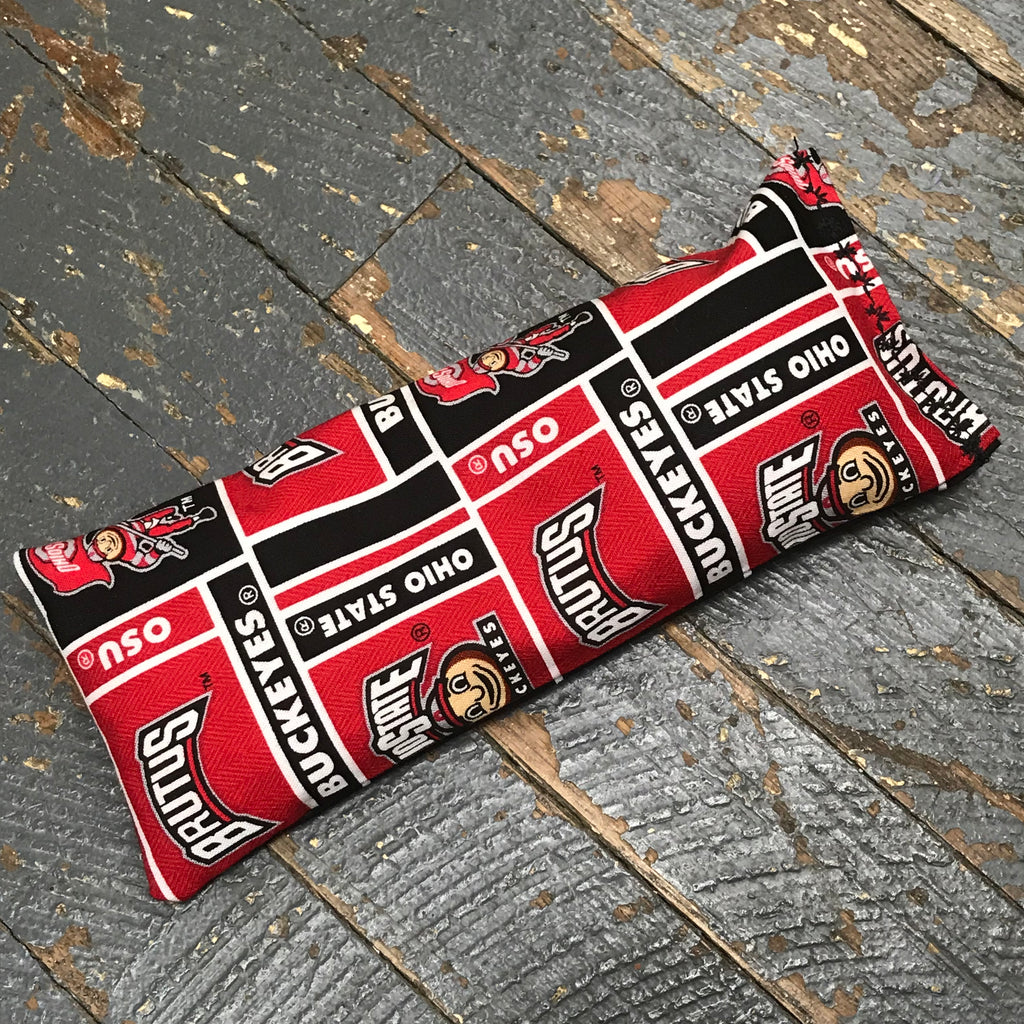 Handmade Fabric Hot Cold Therapy Compress Rice Bags OSU Buckeyes