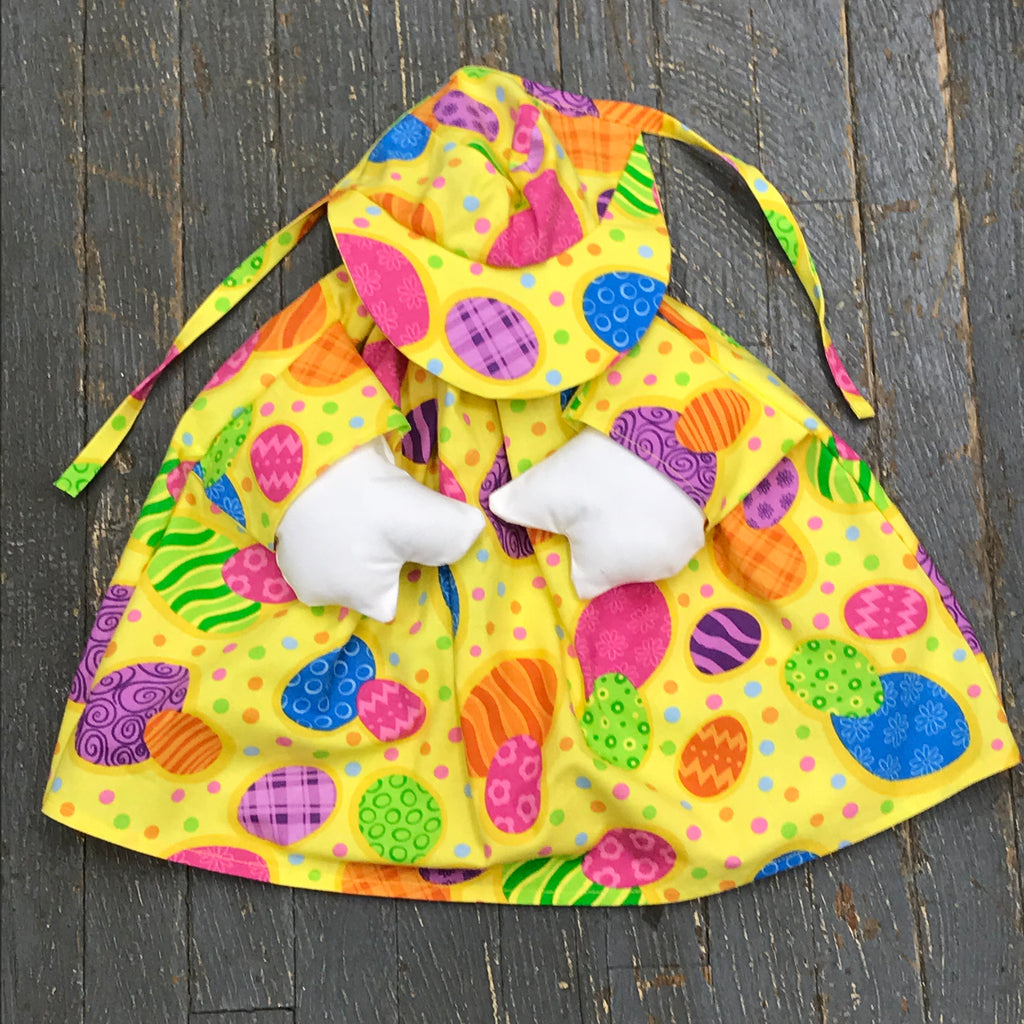 Goose Clothes Complete Holiday Goose Outfit Bright Easter Egg Dress and Hat Costume