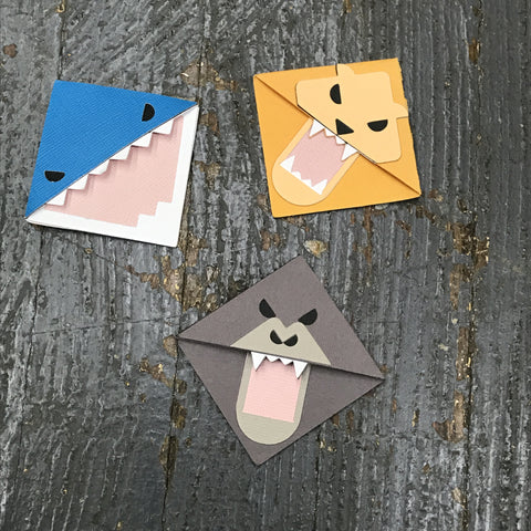 Page Corner Bookmark Page Marker Handmade Paper Animal Page Guard