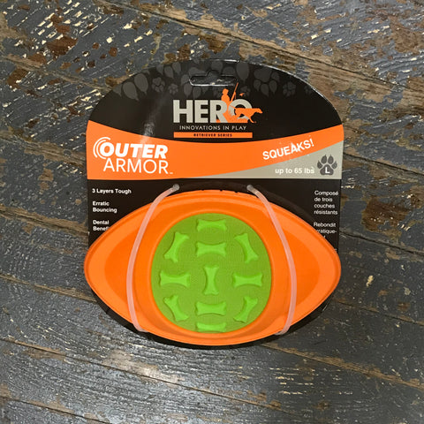 Hero Outer Armor Football Large Pet Toy