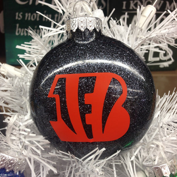 Holiday Christmas Tree Ornament NFL Football Cincinnati Bengals