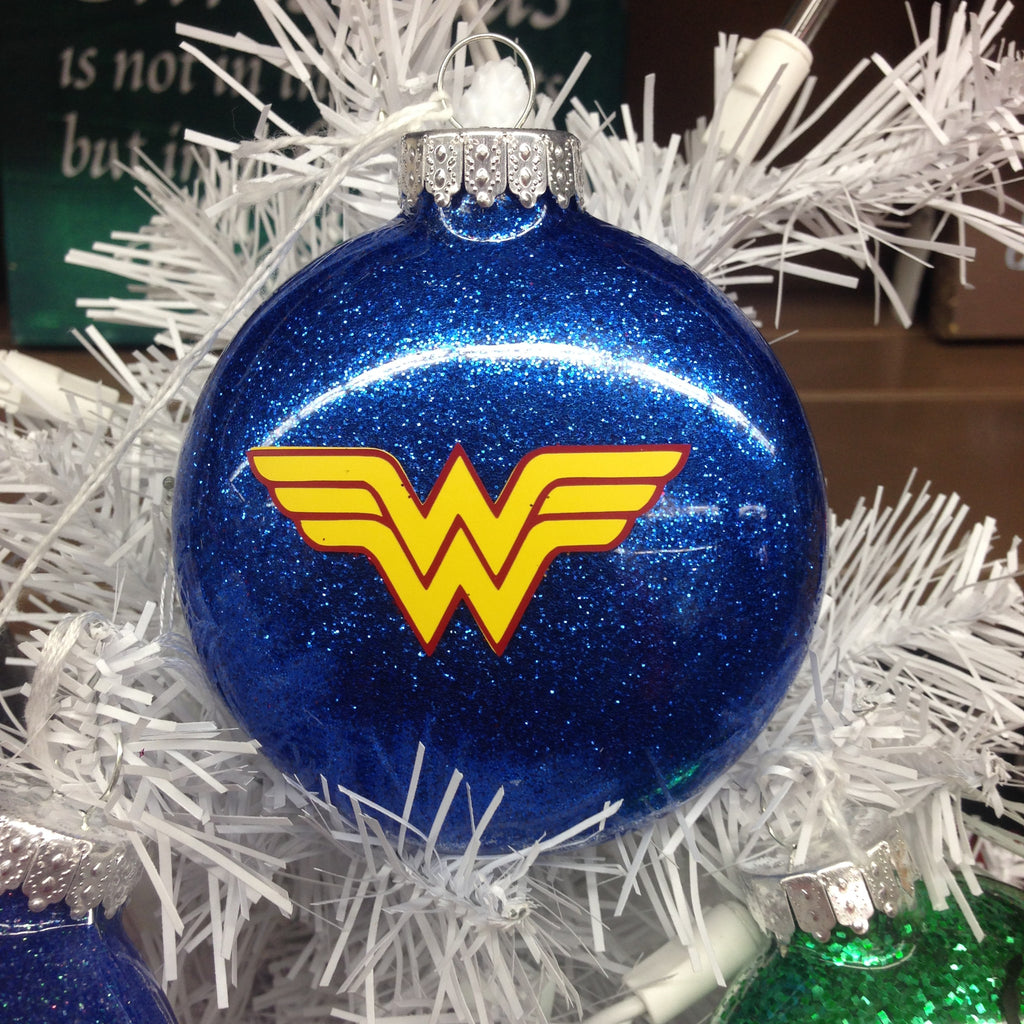 Holiday Christmas Tree Ornament Marvel Comic Superhero Wonder Woman