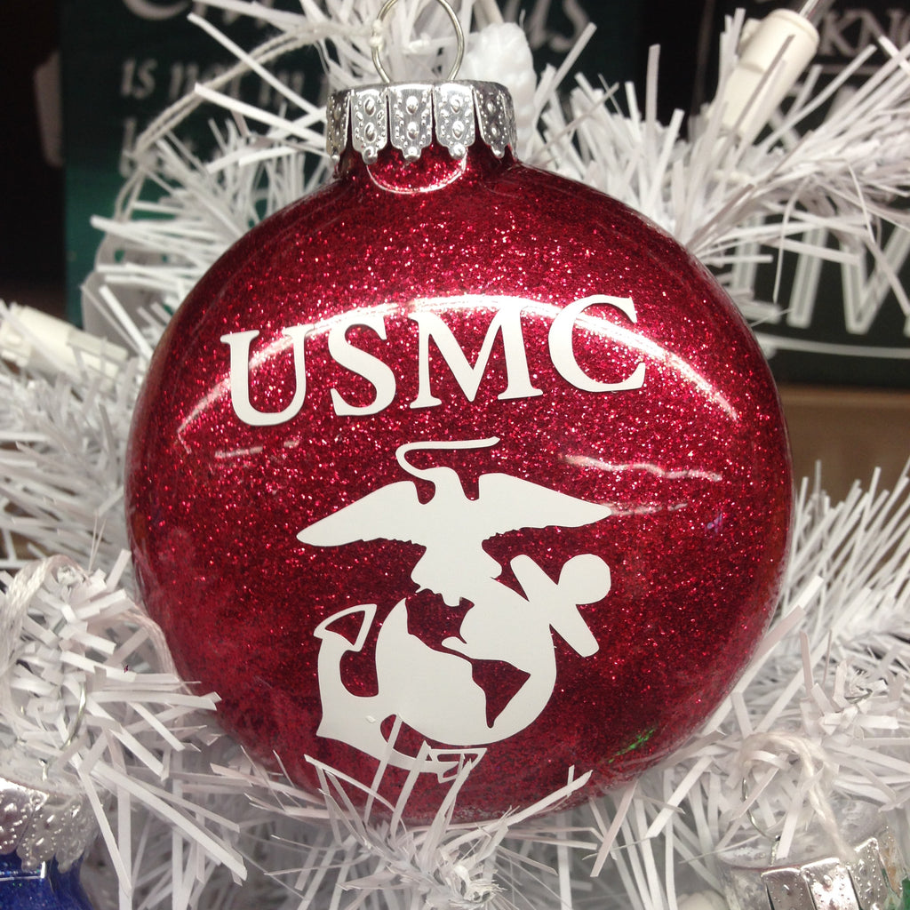 Holiday Christmas Tree Ornament Military Branch Us Navy